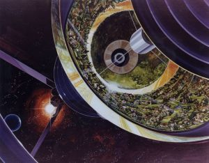Utopian visions in space