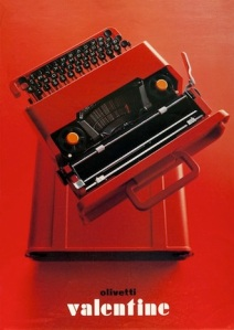 Olivetti typewriter from 1969 - made technology accessible through innovative design (photo: MakeInItaly)