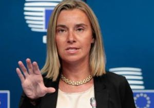 EU's foreign policy chief Federica Mogherini