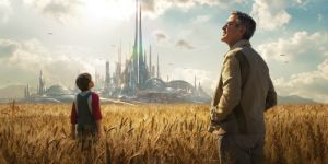 Tomorrowland presents an unabashedly optimistic vision of the future.