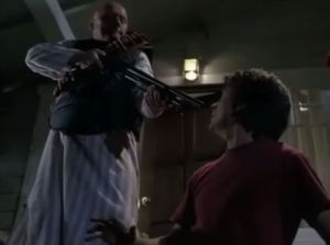 Guns a plenty in alternate 2015 of Back to the Future Part II